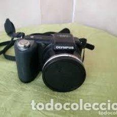 Cámara de fotos: CAMARA DE FOTOS OLYMPUS 15XPTICAL ZOOM WIDE,SP-600UZ IMAGE STABILIZATION 12 MEGAPIXEL,TARJETA DE 2GB. Lote 206506907