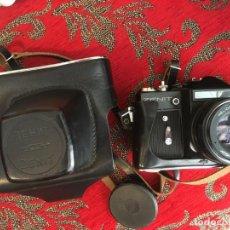 Cámara de fotos: CAMARA DE FOTOS ZENIT 3 M HELIOS 44-M 2/85 SALIDA FLASH, VER FOTOS. MUY BIEN CONSERVADA. Lote 207219046