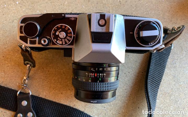Cámara de fotos: EQUIPO FOTOGRAFICO ANALOGICO , CON MALETIN . MIRAGEFLEX 1000S . HANSA . WOC 330 . TOKINA . FILTROS . - Foto 3 - 207317717