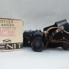 Câmaras de fotos: CÁMARA RÉFLEX FOTOS ZENIT 3 M HELIOS 44-M. Lote 207956641
