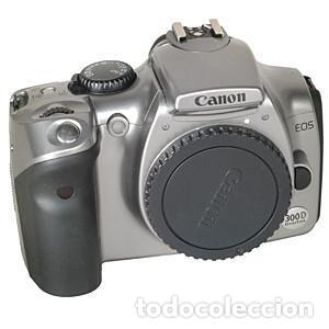 CUERPO CANON EOS 300D DIGITAL PLATEADO (Cámaras Fotográficas - Réflex (autofoco))