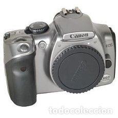 Cámara de fotos: CUERPO CANON EOS 300D DIGITAL PLATEADO. Lote 208147586