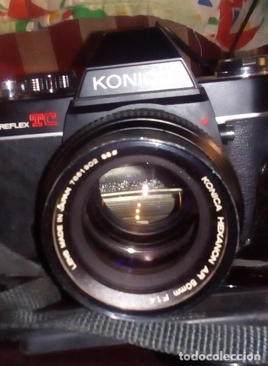 Cámara de fotos: CAMARA Konica Autoreflex TC, + objetivo KONICA HEXANON 1,4 50mm, ORG made in japan, EXC ESTADO - Foto 5 - 172250675