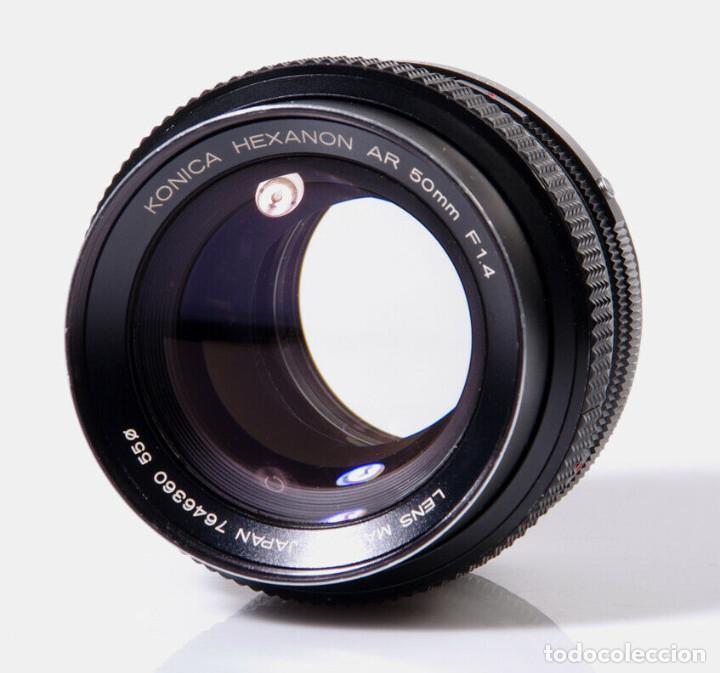 Cámara de fotos: CAMARA Konica Autoreflex TC, + objetivo KONICA HEXANON 1,4 50mm, ORG made in japan, EXC ESTADO - Foto 6 - 172250675