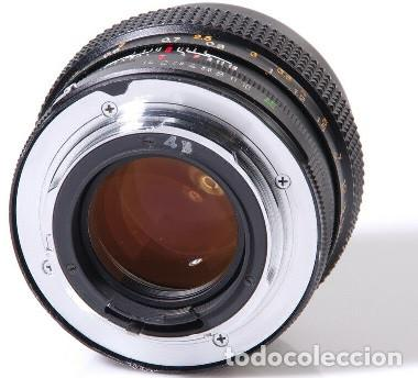 Cámara de fotos: CAMARA Konica Autoreflex TC, + objetivo KONICA HEXANON 1,4 50mm, ORG made in japan, EXC ESTADO - Foto 7 - 172250675