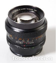 Cámara de fotos: CAMARA Konica Autoreflex TC, + objetivo KONICA HEXANON 1,4 50mm, ORG made in japan, EXC ESTADO - Foto 8 - 172250675