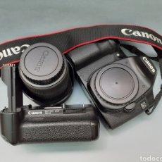 Cámara de fotos: CANON EOS D40, OBJ. SIGMA 18: 50 F.2.8 Y ACCESORIOS. Lote 209028465