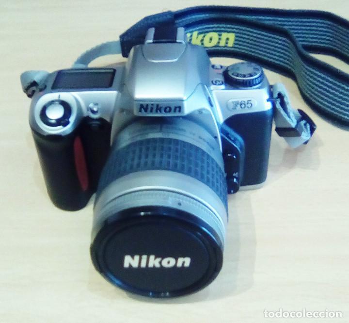 Cámara de fotos: Máquina, Cámara de fotos Nikon y tele objetivo con fundas independientes y maleta del equipo, nuevo - Foto 2 - 209595197
