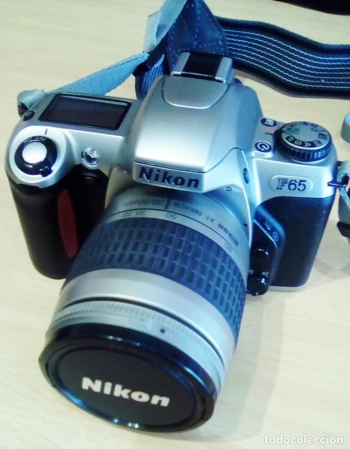 Cámara de fotos: Máquina, Cámara de fotos Nikon y tele objetivo con fundas independientes y maleta del equipo, nuevo - Foto 3 - 209595197