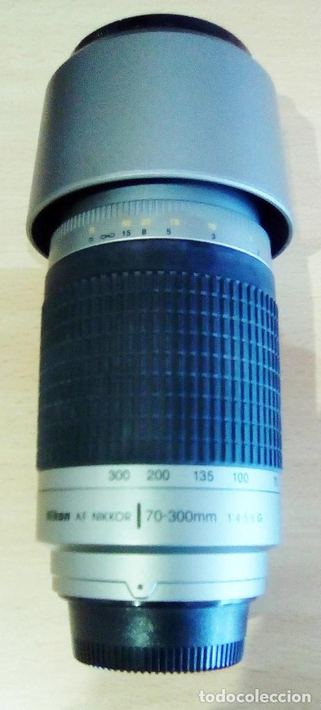 Cámara de fotos: Máquina, Cámara de fotos Nikon y tele objetivo con fundas independientes y maleta del equipo, nuevo - Foto 4 - 209595197