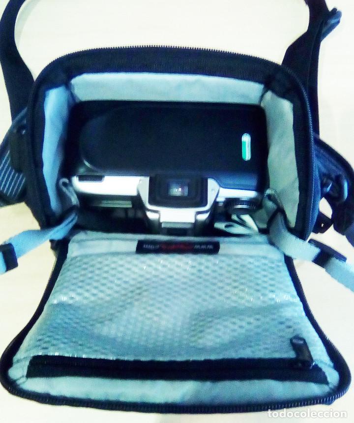 Cámara de fotos: Máquina, Cámara de fotos Nikon y tele objetivo con fundas independientes y maleta del equipo, nuevo - Foto 5 - 209595197