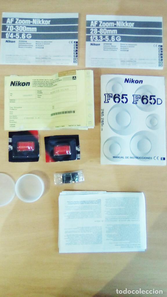 Cámara de fotos: Máquina, Cámara de fotos Nikon y tele objetivo con fundas independientes y maleta del equipo, nuevo - Foto 9 - 209595197