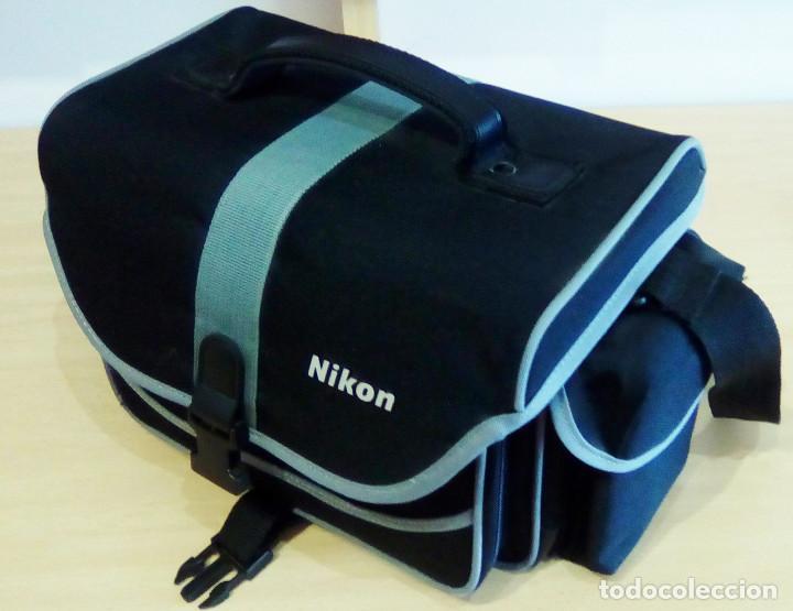 Cámara de fotos: Máquina, Cámara de fotos Nikon y tele objetivo con fundas independientes y maleta del equipo, nuevo - Foto 11 - 209595197