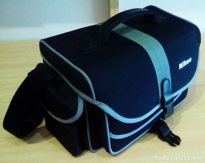 Cámara de fotos: Máquina, Cámara de fotos Nikon y tele objetivo con fundas independientes y maleta del equipo, nuevo - Foto 13 - 209595197