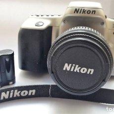 Cámara de fotos: CÁMARA NIKON F50 EN PERFECTO ESTADO CON OBJETIVO NIKKOR 35/80 MM Y BATERÍA RECARGABLE.. Lote 210617082