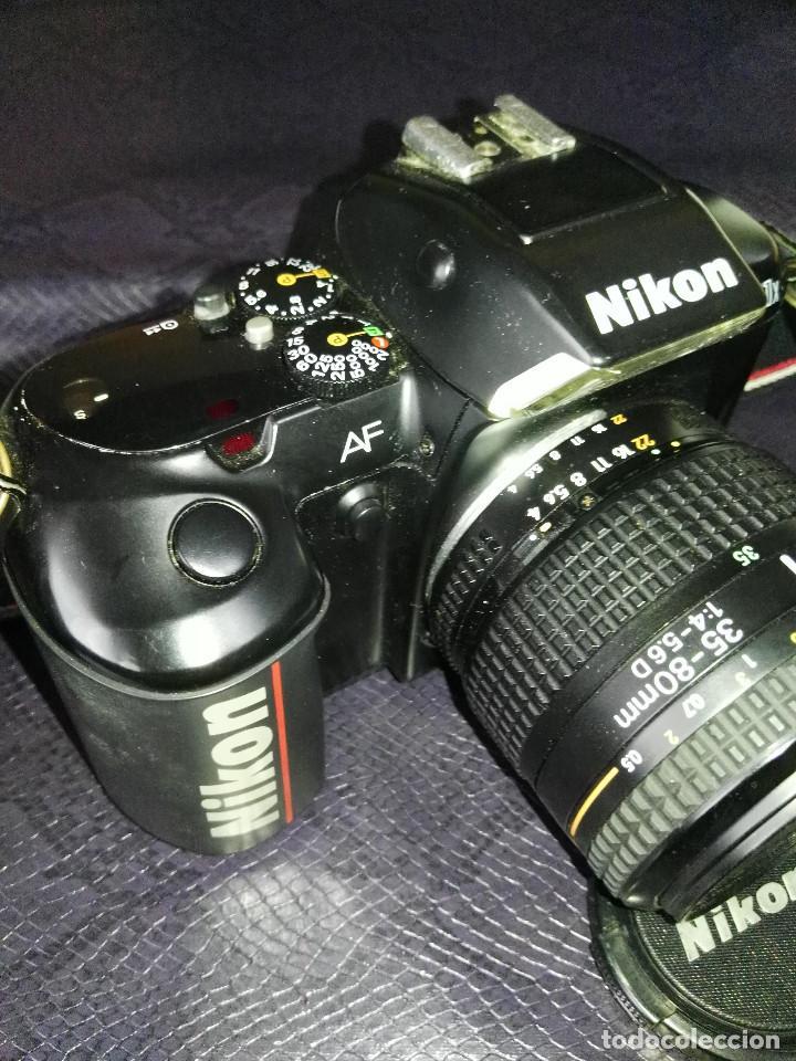 Cámara de fotos: camara Nikon F-401 X con objetivo 35/80 - Foto 2 - 211603844