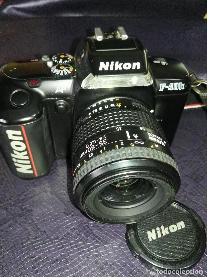 Cámara de fotos: camara Nikon F-401 X con objetivo 35/80 - Foto 3 - 211603844