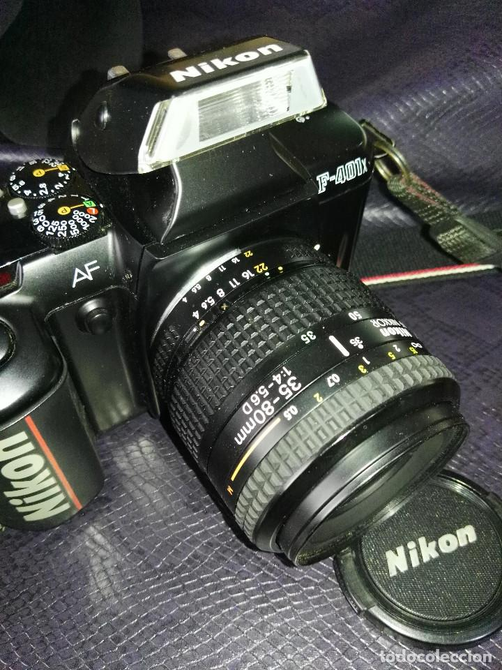 Cámara de fotos: camara Nikon F-401 X con objetivo 35/80 - Foto 7 - 211603844