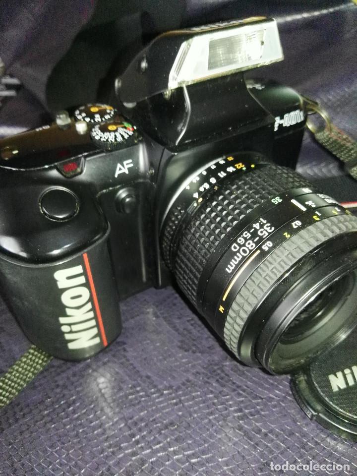 Cámara de fotos: camara Nikon F-401 X con objetivo 35/80 - Foto 8 - 211603844