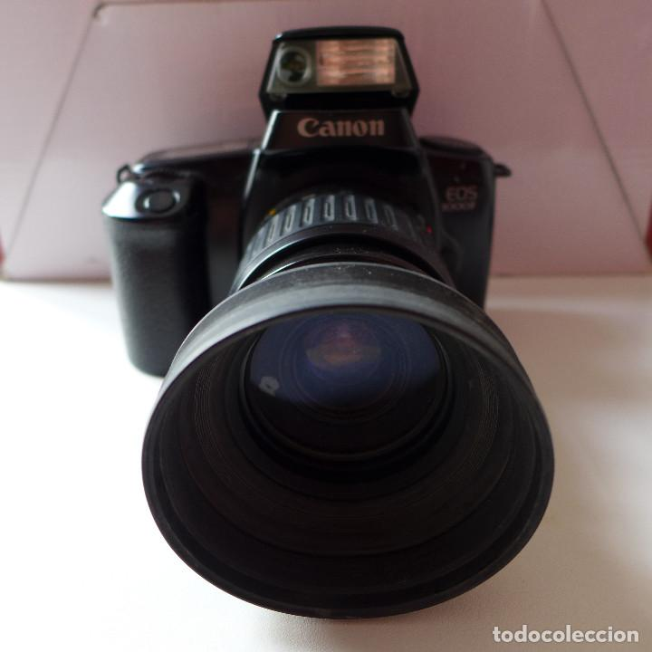 Cámara de fotos: CAMARA DE FOTOS CANON EOS 1000F CON OBJETIVO CANON 35-80 MM - Foto 2 - 211663198