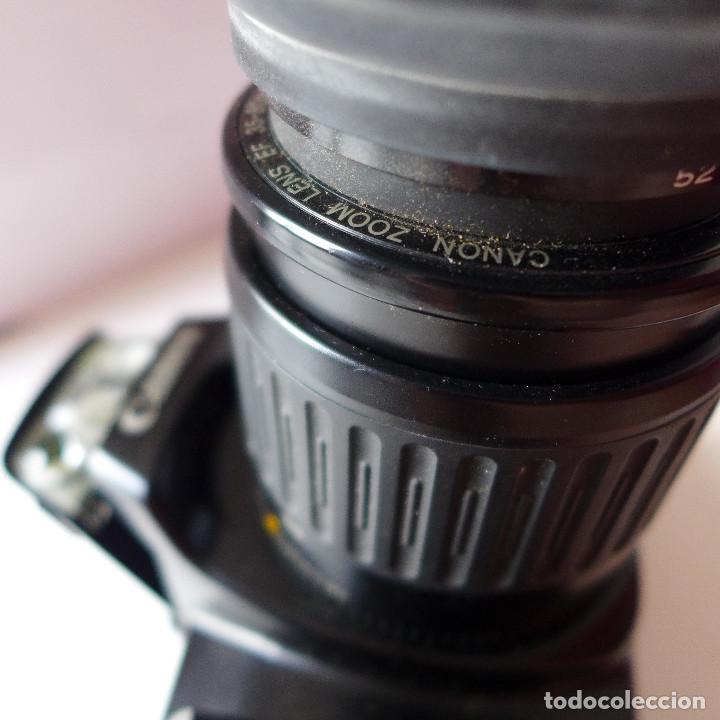 Cámara de fotos: CAMARA DE FOTOS CANON EOS 1000F CON OBJETIVO CANON 35-80 MM - Foto 7 - 211663198