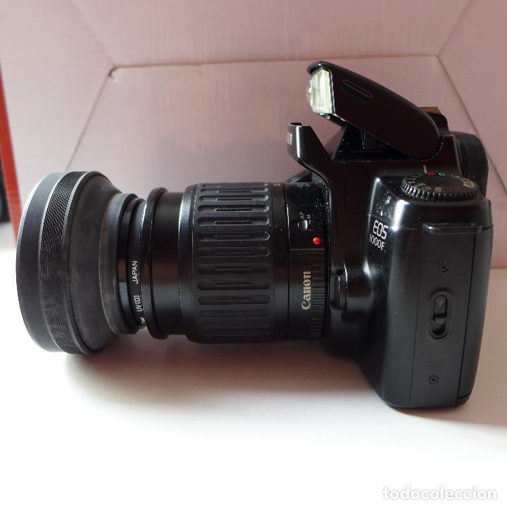 Cámara de fotos: CAMARA DE FOTOS CANON EOS 1000F CON OBJETIVO CANON 35-80 MM - Foto 10 - 211663198