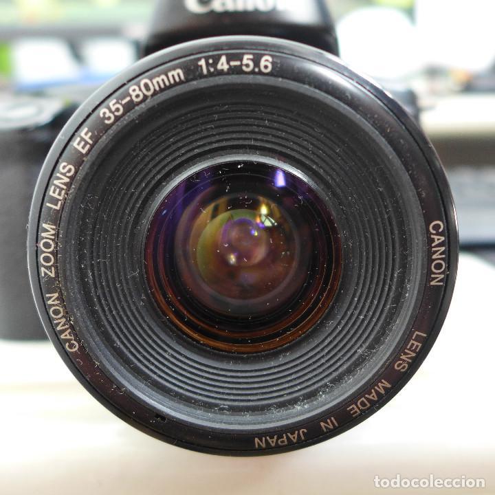 Cámara de fotos: CAMARA DE FOTOS CANON EOS 1000F CON OBJETIVO CANON 35-80 MM - Foto 13 - 211663198