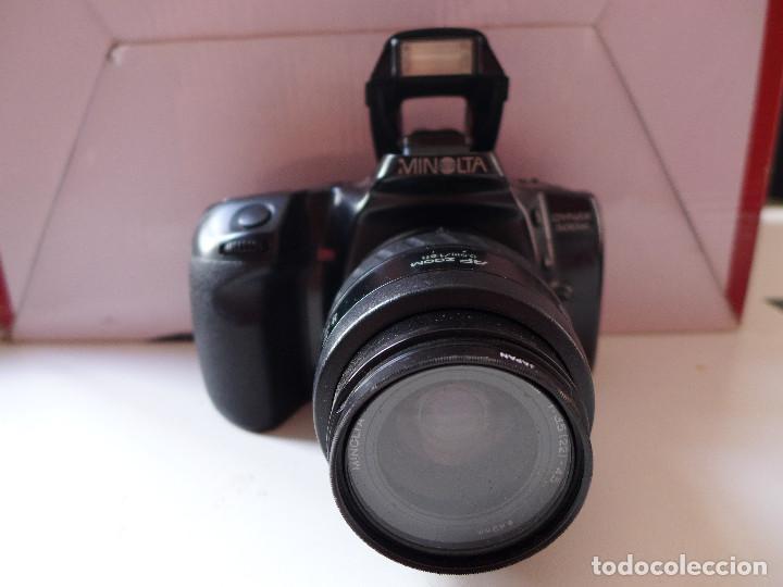 CAMARA DE FOTOS MINOLTA DYNAX 500SI CON OBJETIVO MINOLTA 35-70 MM (Cámaras Fotográficas - Réflex (autofoco))