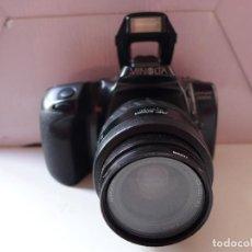 Cámara de fotos: CAMARA DE FOTOS MINOLTA DYNAX 500SI CON OBJETIVO MINOLTA 35-70 MM. Lote 211671149