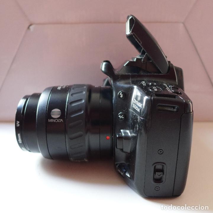 Cámara de fotos: CAMARA DE FOTOS MINOLTA DYNAX 500SI CON OBJETIVO MINOLTA 35-70 MM - Foto 2 - 211671149