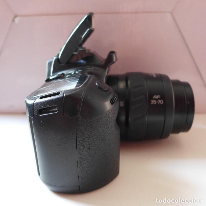 Cámara de fotos: CAMARA DE FOTOS MINOLTA DYNAX 500SI CON OBJETIVO MINOLTA 35-70 MM - Foto 4 - 211671149