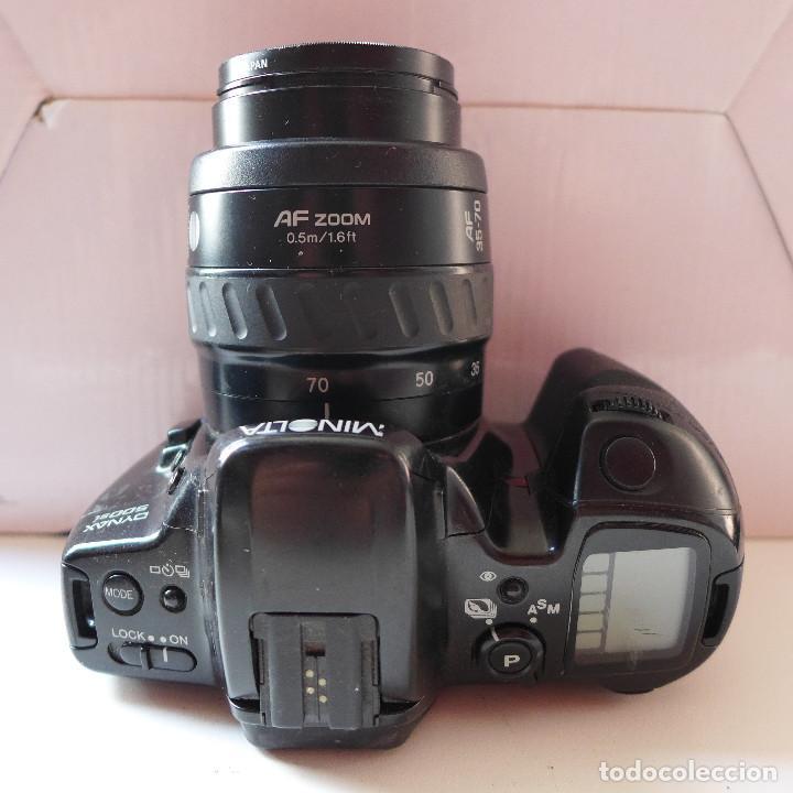 Cámara de fotos: CAMARA DE FOTOS MINOLTA DYNAX 500SI CON OBJETIVO MINOLTA 35-70 MM - Foto 6 - 211671149