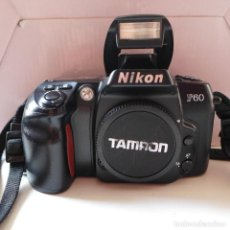 Cámara de fotos: CUERPO DE NIKON F60. Lote 211672514
