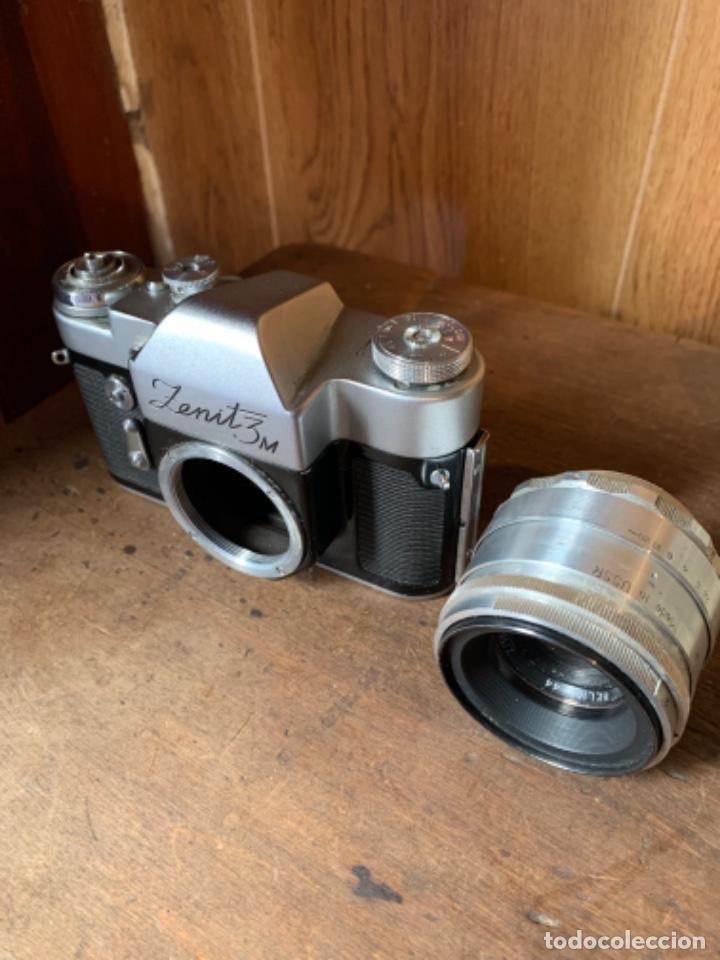 Cámara de fotos: CÁMARA DE FOTOS ZENIT - 3M - MADE IN URSS - AÑOS 60 - Foto 8 - 196839162