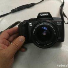 Cámara de fotos: CAMARA ANALOGICA CANON EOS 5000 CON OBJETIVO CANON 38-76 MM 1:4,5 -5,6. Lote 212140562