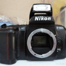 Cámara de fotos: CUERPO DE NIKON F-601. Lote 212528752