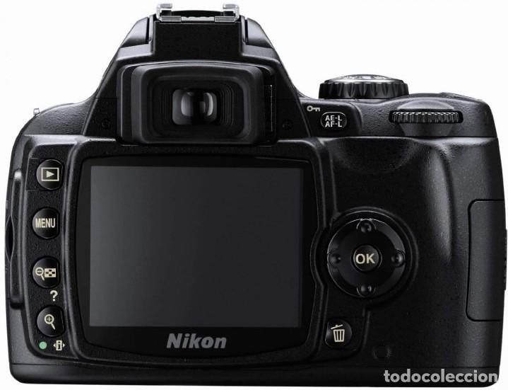 Cámara de fotos: PACK CÁMARA DIGITAL REFLEX NIKON D40 COMPLETA- COMO NUEVA-4500 DISPAROS. - Foto 4 - 214479208