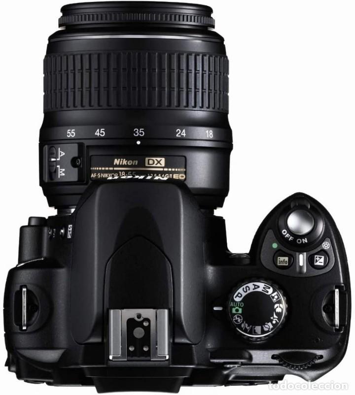 Cámara de fotos: PACK CÁMARA DIGITAL REFLEX NIKON D40 COMPLETA- COMO NUEVA-4500 DISPAROS. - Foto 5 - 214479208