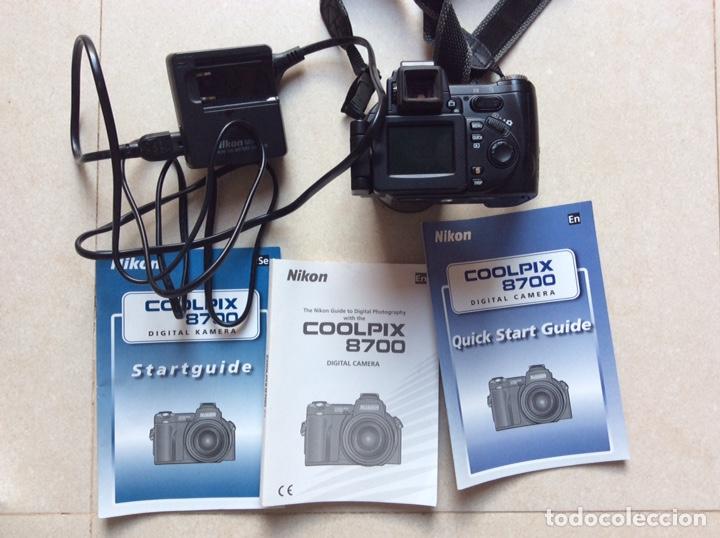 NIKON COOLPIX 8700 8X ZOOM NIKKOR ED 8.9-71.2MM 1:2,8-4,2 8.0 MEGA PIXELS (Cámaras Fotográficas - Réflex (autofoco))