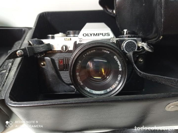 Cámara de fotos: CAMARA DE FOTOS OLYMPUS OM 10 CON 3 OBJETIVOS, 50MM, , 28MM Y 135MM, FUNDA Y BOLSA DE TRANSPORTE - Foto 2 - 214975546