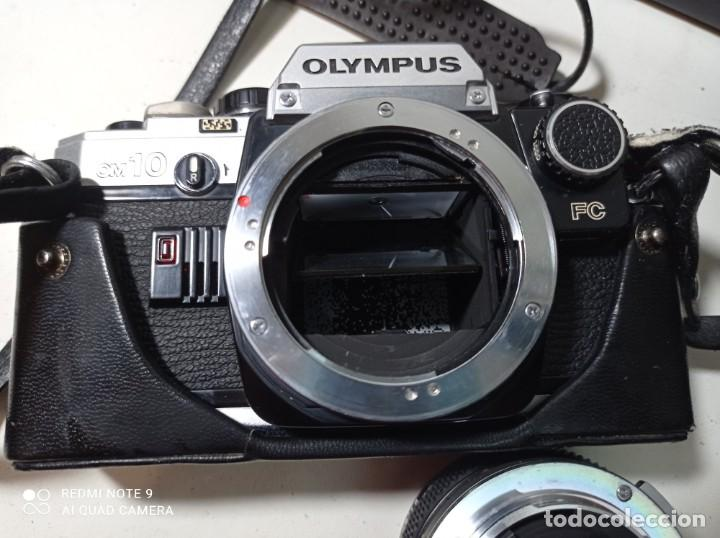 Cámara de fotos: CAMARA DE FOTOS OLYMPUS OM 10 CON 3 OBJETIVOS, 50MM, , 28MM Y 135MM, FUNDA Y BOLSA DE TRANSPORTE - Foto 6 - 214975546