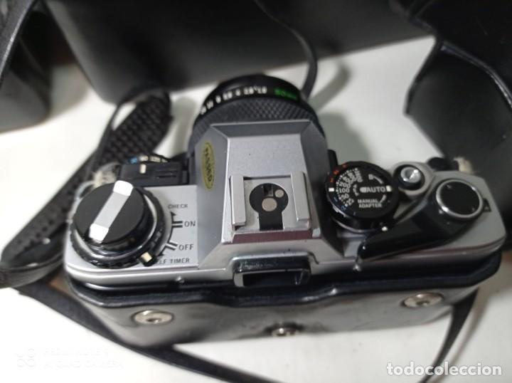 Cámara de fotos: CAMARA DE FOTOS OLYMPUS OM 10 CON 3 OBJETIVOS, 50MM, , 28MM Y 135MM, FUNDA Y BOLSA DE TRANSPORTE - Foto 7 - 214975546