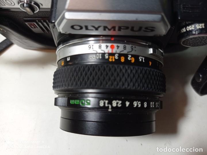 Cámara de fotos: CAMARA DE FOTOS OLYMPUS OM 10 CON 3 OBJETIVOS, 50MM, , 28MM Y 135MM, FUNDA Y BOLSA DE TRANSPORTE - Foto 9 - 214975546