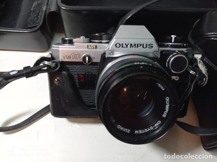 Cámara de fotos: CAMARA DE FOTOS OLYMPUS OM 10 CON 3 OBJETIVOS, 50MM, , 28MM Y 135MM, FUNDA Y BOLSA DE TRANSPORTE - Foto 13 - 214975546