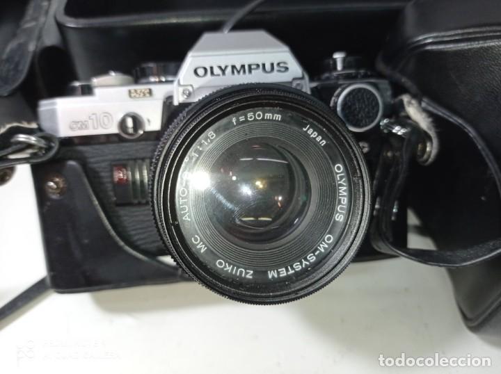 Cámara de fotos: CAMARA DE FOTOS OLYMPUS OM 10 CON 3 OBJETIVOS, 50MM, , 28MM Y 135MM, FUNDA Y BOLSA DE TRANSPORTE - Foto 14 - 214975546