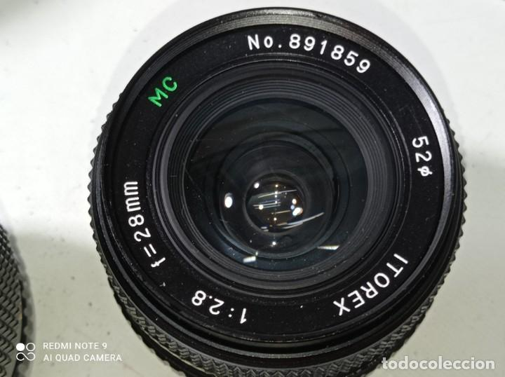 Cámara de fotos: CAMARA DE FOTOS OLYMPUS OM 10 CON 3 OBJETIVOS, 50MM, , 28MM Y 135MM, FUNDA Y BOLSA DE TRANSPORTE - Foto 24 - 214975546