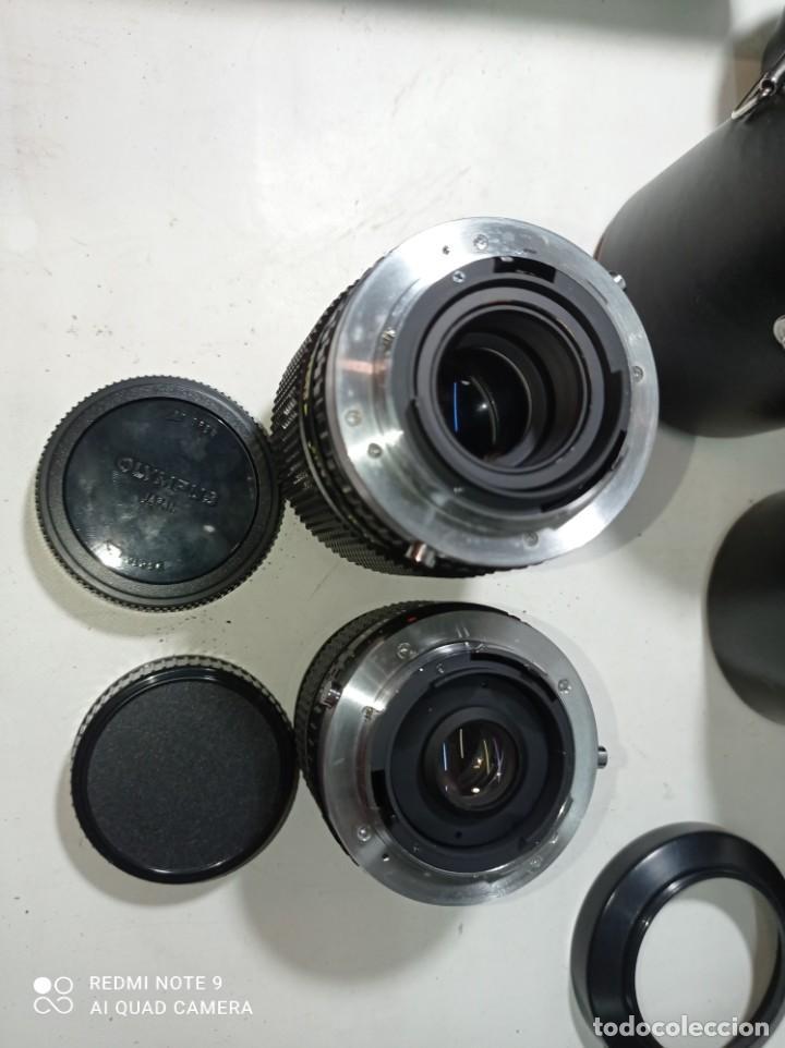 Cámara de fotos: CAMARA DE FOTOS OLYMPUS OM 10 CON 3 OBJETIVOS, 50MM, , 28MM Y 135MM, FUNDA Y BOLSA DE TRANSPORTE - Foto 29 - 214975546