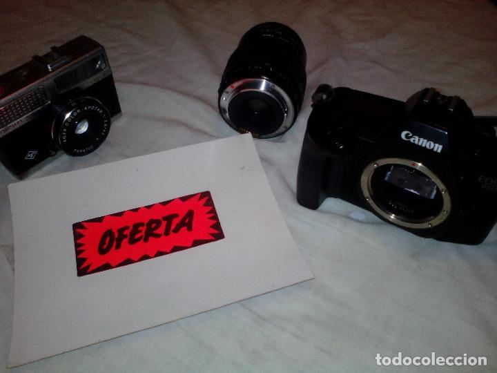 Cámara de fotos: PAR DE ANTIGUAS CAMARAS FOTOGRAFIA **CANON Y AGFA** - Foto 2 - 215997307