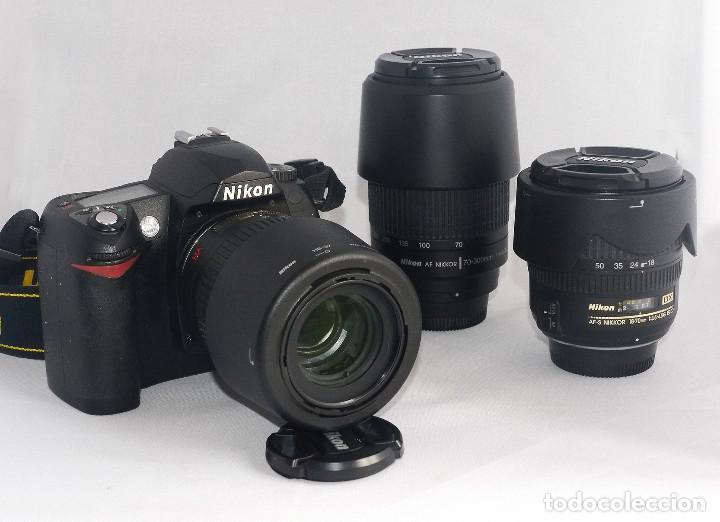 Cámara de fotos: Equipo completo, Nikon digital,D70 - Foto 4 - 216489325