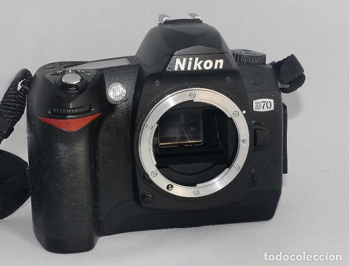 Cámara de fotos: Equipo completo, Nikon digital,D70 - Foto 7 - 216489325